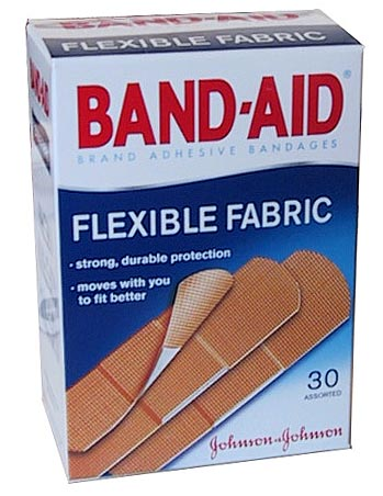 They'll change the bandaids